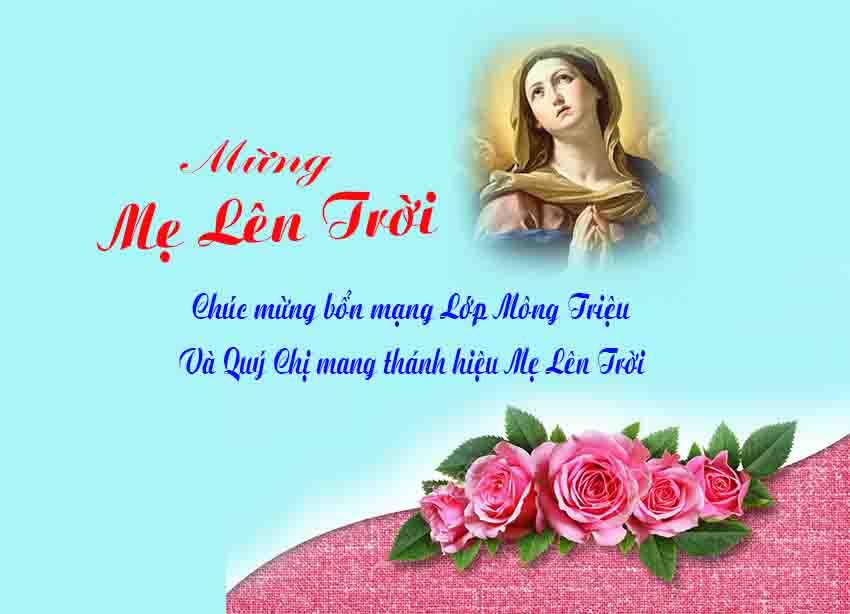 Suy niệm lễ Mẹ lên trời