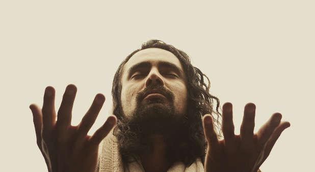 Jesus praying