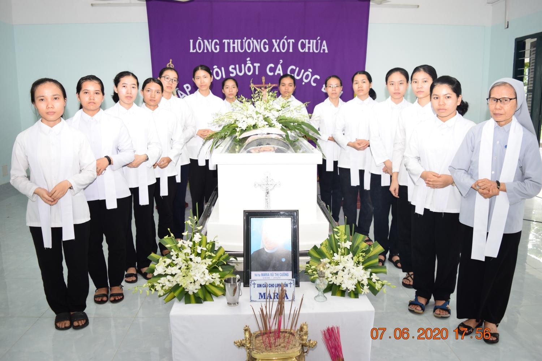 Sr. Maria Vũ Thị Cường - CMR - về Nhà Cha