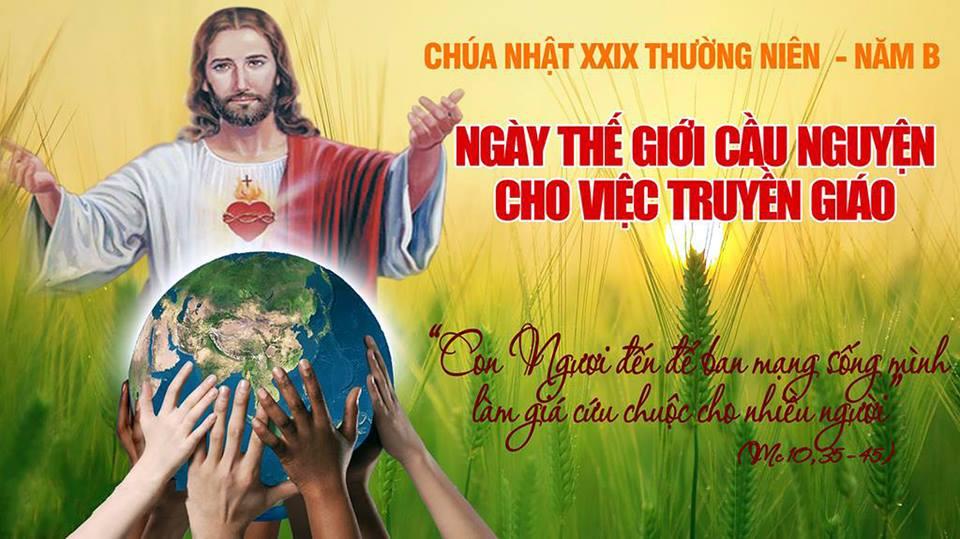 Suy niệm Lời Chúa: Chúa nhật  Khánh nhật truyền giáo
