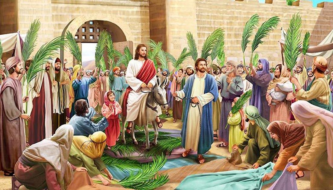 Dáng đứng của Tình Yêu - Lễ Lá